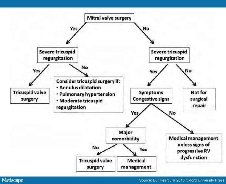 Assessment Of Functional Tricuspid Regurgitation