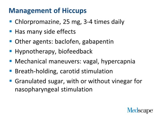 Belching, Air Swallowing, and Hiccups ~ Baclofen Hiccups
