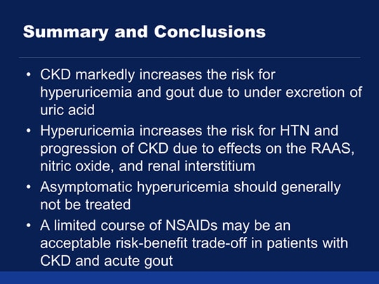 Persistent Hyperuricemia A Multi Pronged Approach To The