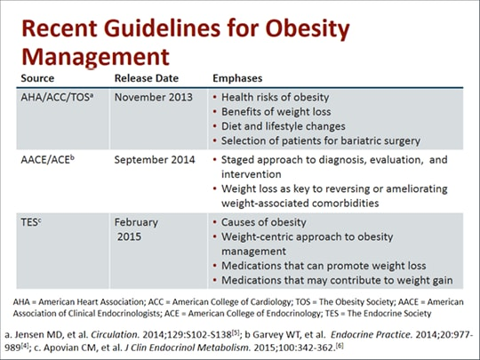 Updates on Obesity Treatment: From Guidelines to Agents ...