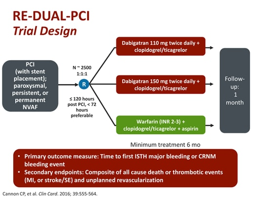 Design and Rationale of the RE-DUAL PCI Trial: A ...