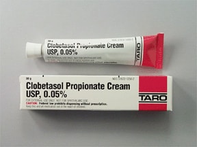 clobetasol 0.05 % topical cream