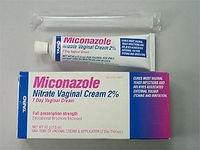 miconazole nitrate 2 % vaginal cream