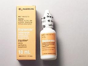 Blephamide 10 %-0.2 % eye drops,suspension