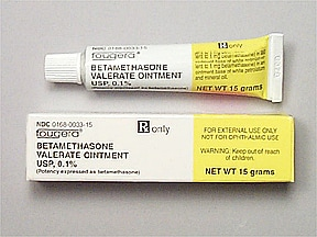 betamethasone valerate 0.1 % topical ointment