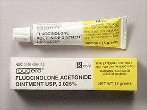 fluocinolone 0.025 % topical ointment