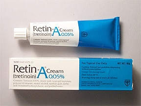 Retin-A 0.05 % topical cream