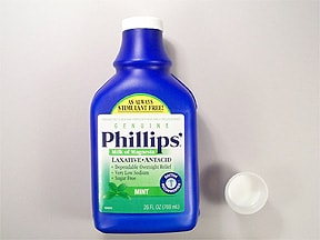 Phillips Milk of Magnesia 400 mg/5 mL oral suspension