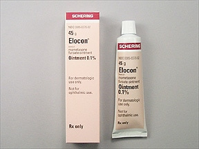 Elocon 0.1 % topical ointment