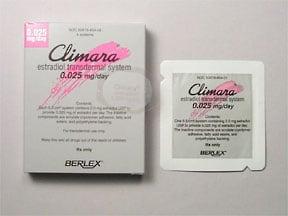 Climara 0.025 mg/24 hr transdermal patch