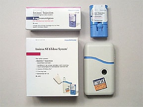 Imitrex STATdose Pen 6 mg/0.5 mL subcutaneous pen injector