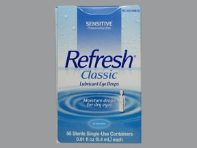 Refresh Classic (PF) 1.4 %-0.6 % eye drops in a dropperette
