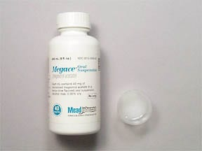 Megace 400 mg/10 mL (40 mg/mL) oral suspension