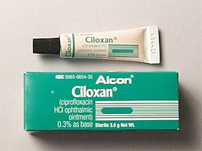 Ciloxan 0.3 % eye ointment