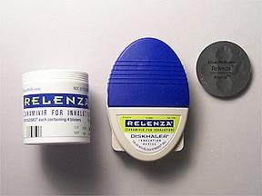 Relenza Diskhaler 5 mg/actuation powder for inhalation