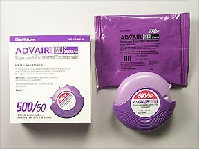 Advair Diskus 500 mcg-50 mcg/dose powder for inhalation