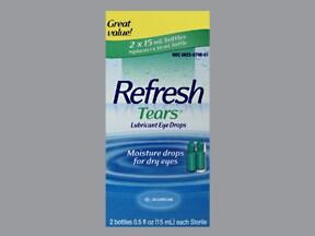 Refresh Tears 0.5 % eye drops