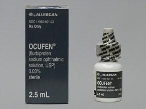 Ocufen 0.03 % eye drops