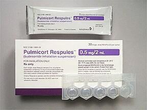 Pulmicort 0.5 mg/2 mL suspension for nebulization