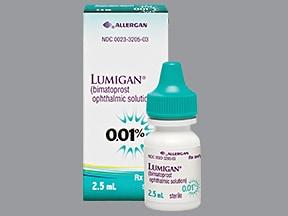 Lumigan 0.01 % eye drops