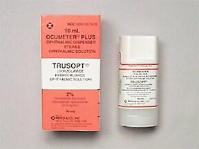 Trusopt 2 % eye drops