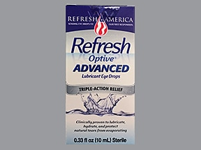 Refresh Optive Advanced 0.5 %-1 %-0.5 % eye drops