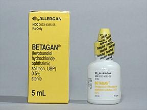 Betagan 0.5 % eye drops