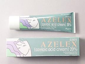 Azelex 20 % topical cream