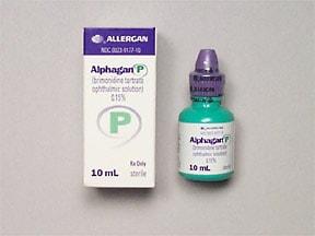 Alphagan P 0.15 % eye drops
