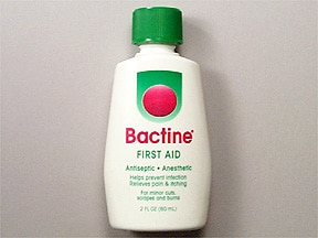 Bactine (with alcohol) 2.5 % topical solution