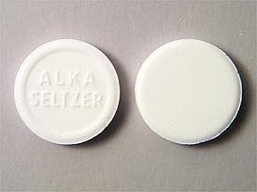 Alka-Seltzer Original 325 mg-1,916 mg-1,000 mg effervescent tablet