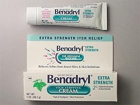 Benadryl Extra Strength 2 %-0.1 % topical cream