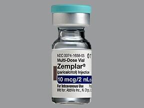 Zemplar 5 mcg/mL intravenous solution