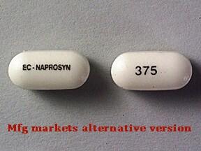 EC-Naprosyn 375 mg tablet,delayed release