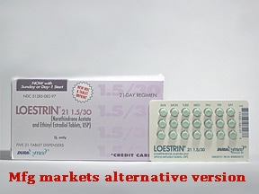 Loestrin 1.5/30 (21) 1.5 mg-30 mcg tablet