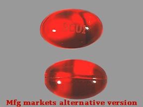 docusate sodium 100 mg capsule