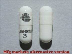 Zonegran 25 mg capsule