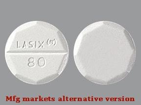 Lasix 80 mg tablet