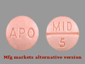 midodrine 5 mg tablet