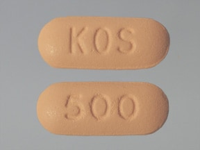 Niaspan 500 mg tablet,extended release
