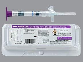 Lupron Depot 3.75 mg intramuscular syringe kit