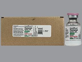 fluorouracil 1 gram/20 mL intravenous solution