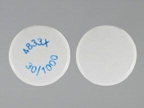 Actoplus Met XR 30 mg-1,000 mg tablet,extended release