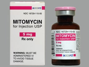 mitomycin 5 mg intravenous solution