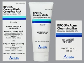 BPO Creamy Wash Pack 4 %-5 % Topical