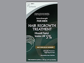 minoxidil 5 % topical solution