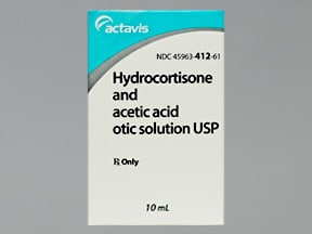 Acetic Acid-Hydrocortisone Otic
