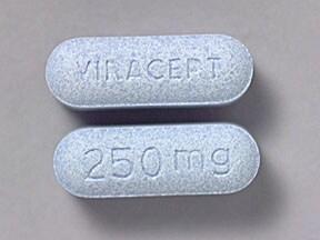 Viracept 250 mg tablet