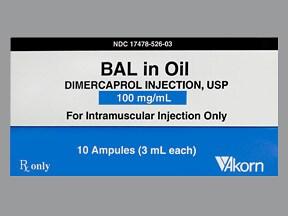 Bal in Oil 100 mg/mL intramuscular solution
