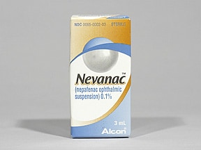 Nevanac 0.1 % eye drops,suspension